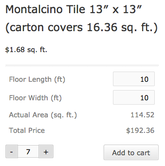 WooCommerce Measurement Price Calculator | Frontend calculator display