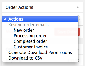 "WooCommerce Order / Customer CSV Export Exporting from ""Edit Order"" Screen"