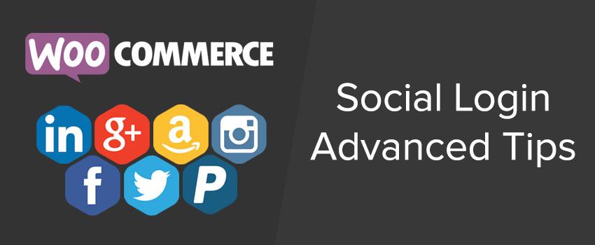 WooCommerce Social Login tips