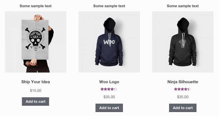 Add Information Above WooCommerce Product Images