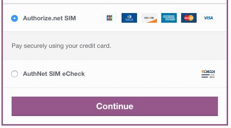 WooCommerce Authorize Net SIM - SkyVerge