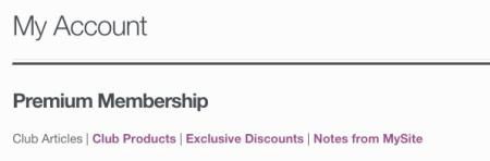 WooCommerce memberships update member area section names
