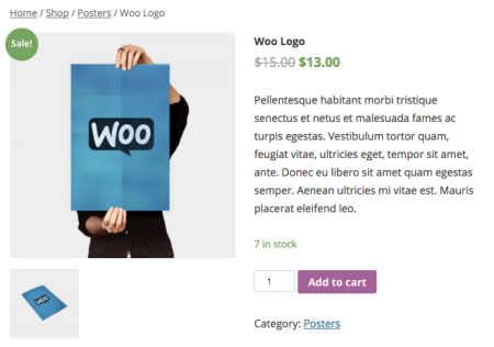 WooCommerce Member price display