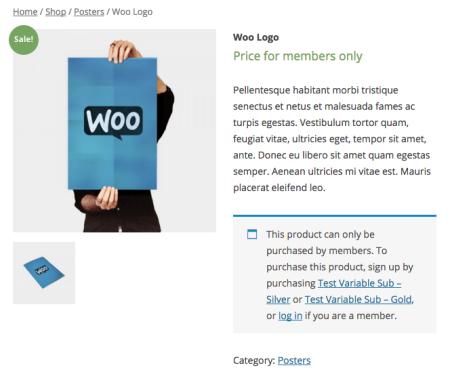 WooCommerce Non Member Price Display