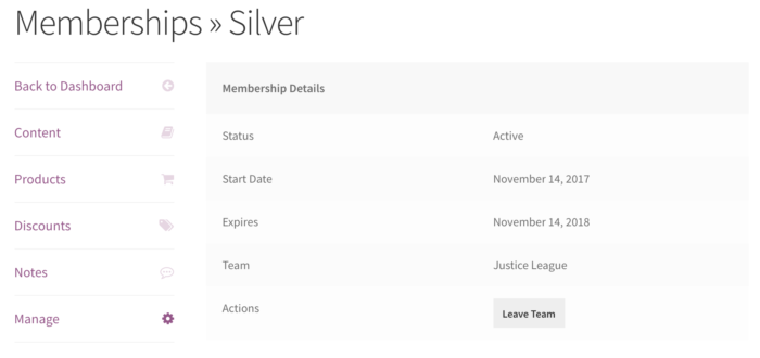 Teams for Memberships: Manage membership
