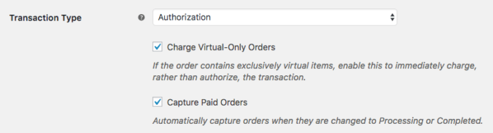 WooCommerce USA ePay: capture virtual orders