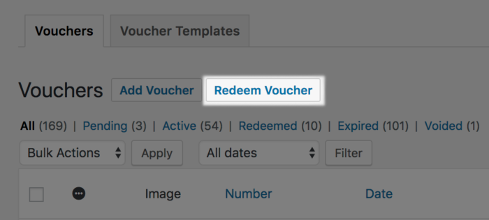 WooCommerce PDF Product Vouchers redeem barcode
