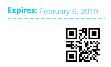 WooCommerce PDF Product Vouchers generated QR code